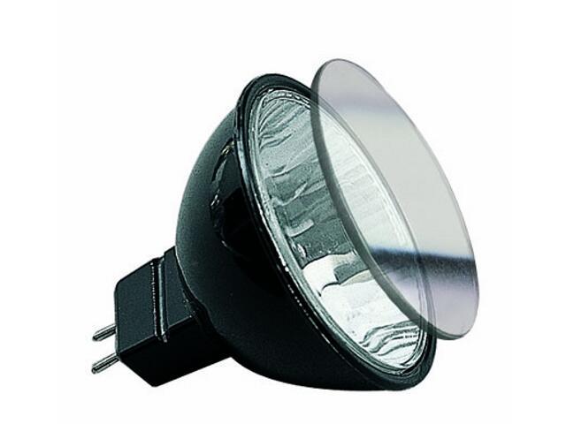 Żarówka halogenowa Akzent 12V, czarna, GU5,3, fi 51mm, 20W Paulmann