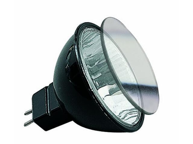 Żarówka halogenowa Akzent 12V, czarna, GU5,3, fi 51mm, 35W Paulmann