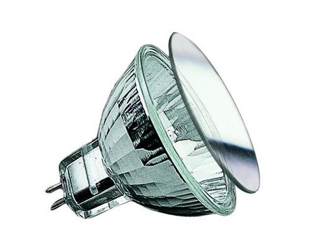 Żarówka halogenowa Akzent 12V, srebrna, GU5,3, fi 51mm, 50W Paulmann
