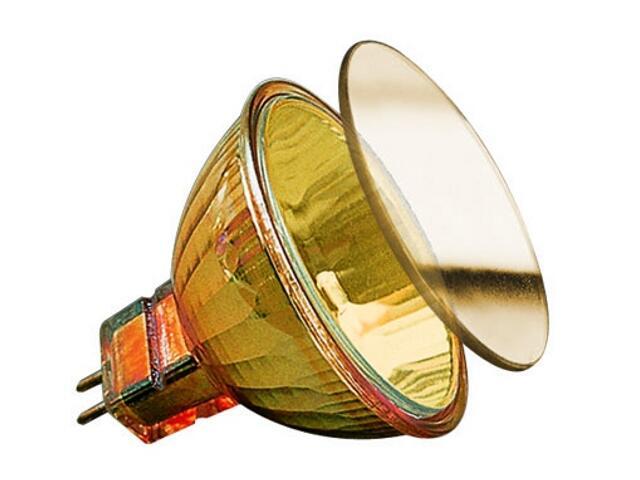 Żarówka halogenowa Juwel 38° 20W GU5,3 12V fi 51mm złoty Paulmann