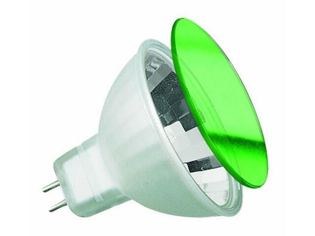 Żarówka halogenowa True Color 12V, zielone światło, GU5,3, 35W Paulmann
