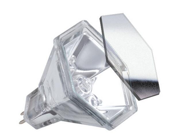 Żarówka halogenowa Hexagonal 12V, srebrna, GU5,3, 20W Paulmann
