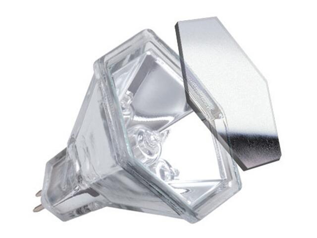 Żarówka halogenowa Hexagonal 12V, srebrna, GU5,3, 35W Paulmann
