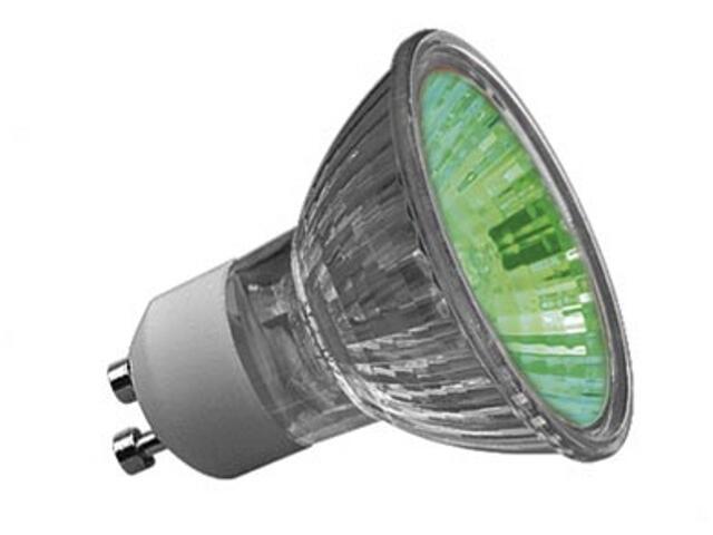 Żarówka halogenowa Truecolor 50W GU10 230V 51mm zielona Paulmann