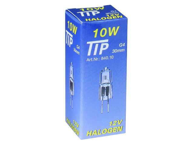 Żarówka halogenowa TIP 12V, przezroczysta, G4, 10W Paulmann