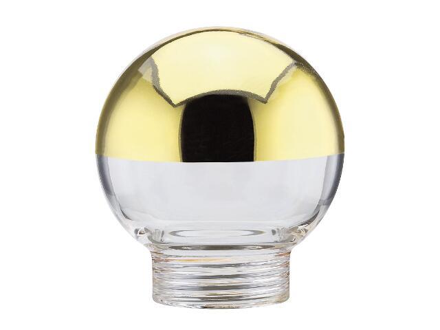 Klosz kulka lustro złoty Paulmann