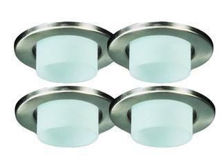 Żarówka halogenowa Deco Line Dekozylinder 4x20W stalowy satynowany Paulmann
