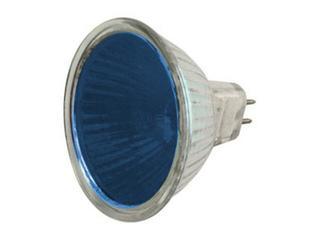 Żarówka halogenowa COLOR 20W GU5,3 niebieski ANS