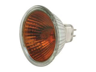 Żarówka halogenowa COLOR 20W GU5,3 czerwony ANS