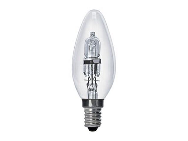 Żarówka halogenowa energooszczędna świecowa HALOCLASSIC CANDLE 18W E14 ANS