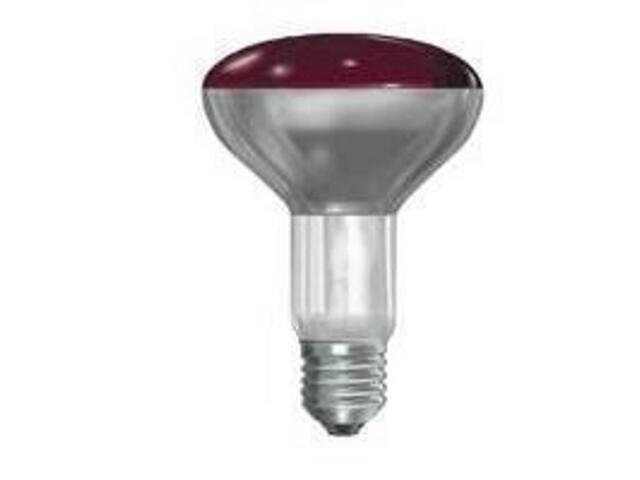 Żarówka - promiennik podczerwieni 150W czerwona 150R/IR/R/E27 GE Lighting