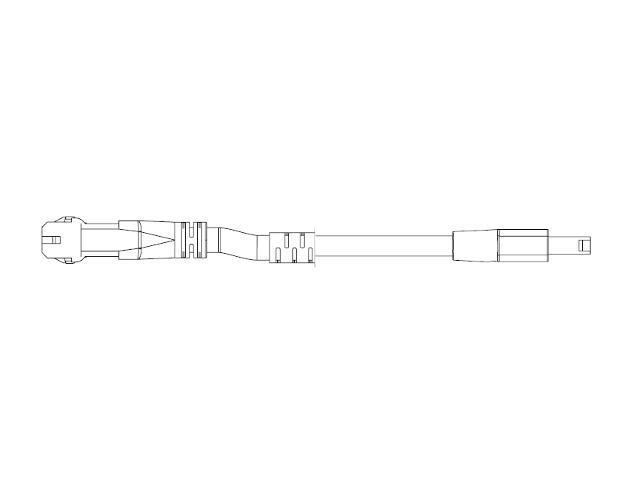 Przewód przyłączeniowy dwustronny LC-LC/3M/CE do systemu Cove 3m GE Lighting