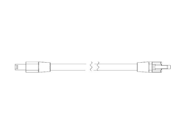 Przewód przyłączeniowy główny LC-JC/1M/CE do systemu Cove 1m GE Lighting