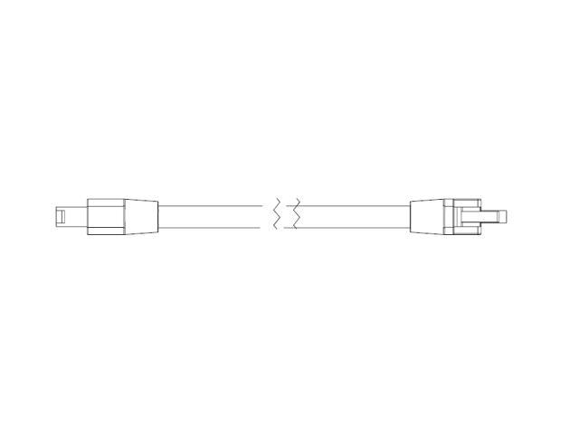 Złączka do węży świetlnych JC-12 do systemu TETRA AL10 LED GE Lighting