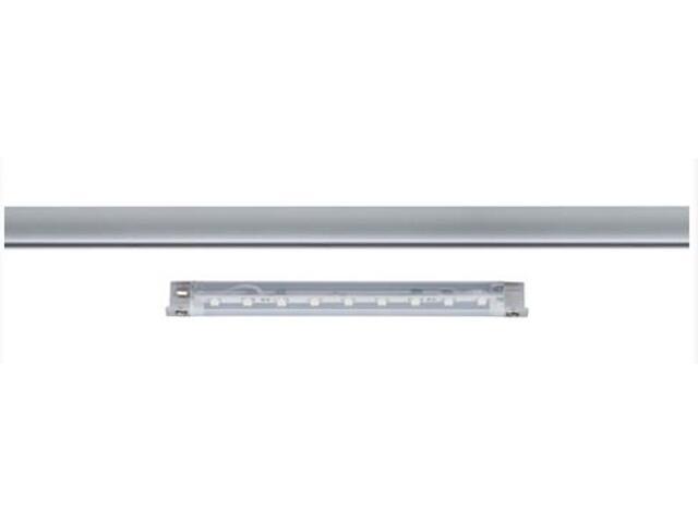 Taśma LED jednokolorowa Inline do Uline 1W 12V chrom mat metal Paulmann