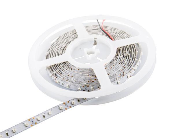 Taśma LED jednokolorowa 5m 60szt/m 3528 4,8W/m bez konektora żółta Whitenergy