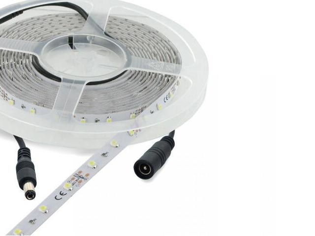 Taśma LED jednokolorowa 5m 60szt/m 3528 6W/m ciepła barwa Whitenergy
