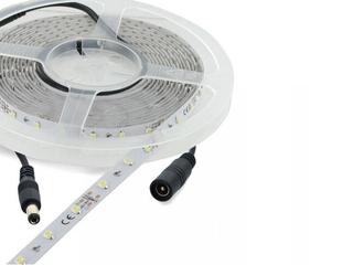 xTaśma LED jednokolorowa 5m 60szt/m 3528 6W/m ciepła barwa Whitenergy