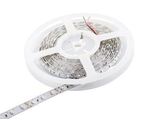 Taśma LED jednokolorowa 5m 60szt/m 3528 4,8W/m bez konektora niebieska Whitenergy