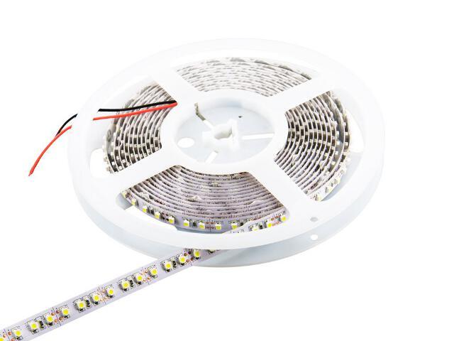 Taśma LED jednokolorowa 5m 120szt/m 3528 9,6W/m bez konektora ciepła barwa Whitenergy