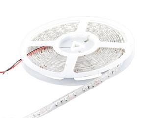 Taśma LED jednokolorowa 5m 60szt/m 3528 4,8W/m IP65 (żel) bez konektora zielona Whitenergy