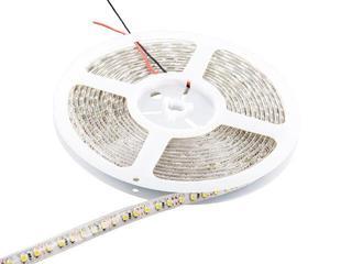 Taśma LED jednokolorowa 5m 120szt/m 3528 9,6W/m IP65 bez konektora chłodna barwa Whitenergy