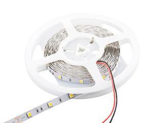 Taśma LED jednokolorowa 5m 30szt/m 5050 7,2W/m bez konektora ciepła barwa Whitenergy