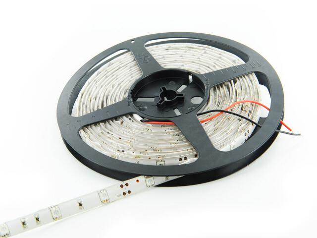 Taśma LED jednokolorowa 5m 30szt/m 5050 7,2W/m IP67 (żel) bez konektora ciepła barwa Whitenergy