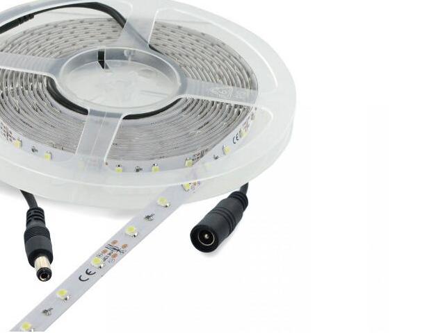 Taśma LED jednokolorowa 5m 60szt/m 6W/m 12V zielona 06873 Whitenergy