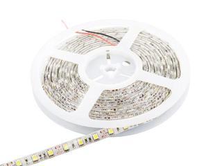 Taśma LED jednokolorowa 5m 60szt/m 5050 14,4W/m IP67 bez konektora ciepła barwa Whitenergy