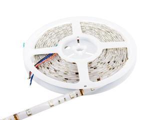 Taśma LED wielokolorowa RGB 5m 30szt/m 5050 7,2 W/m RGB IP67 (żel) bez konektora RGB Whitenergy