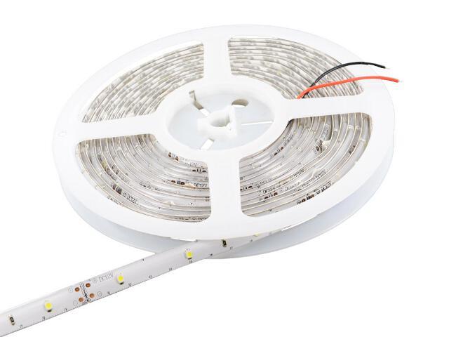 Taśma LED jednokolorowa 5m 30szt/m 3528 2,4W/m IP65 (żel) bez konektora ciepła barwa Whitenergy