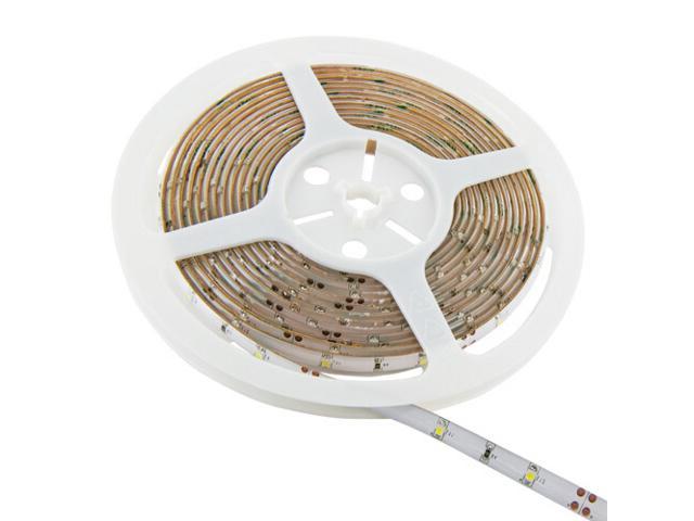 Taśma LED jednokolorowa 5m 30szt/m 3528 2,4W/m IP65 bez konektora chłodna barwa Whitenergy