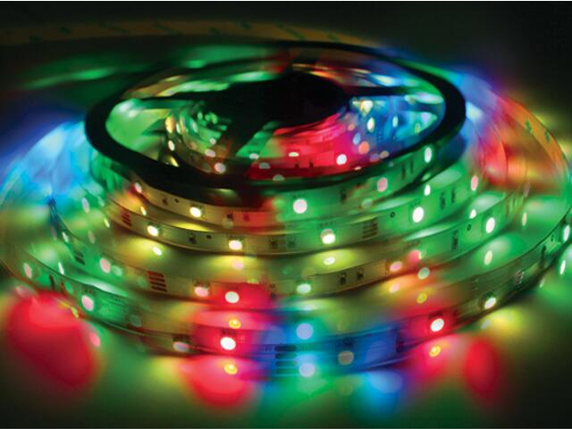 Taśma LED wielokolorowa RGB SMD 5050 IP20 LEDSV-ST60 RGB Apollo Lighting