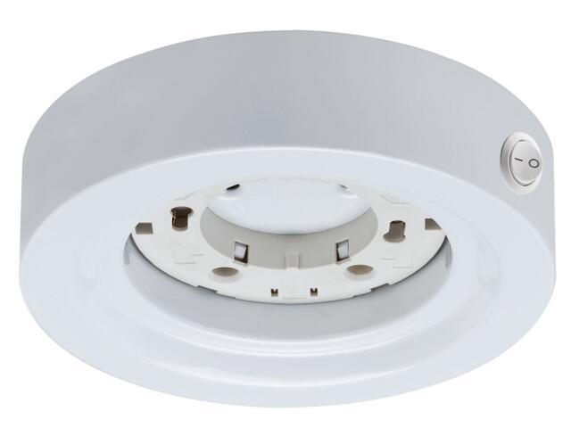 Oprawa podszafkowa Micro Line Disc ESL okrągła max.13W GX53 biała Paulmann