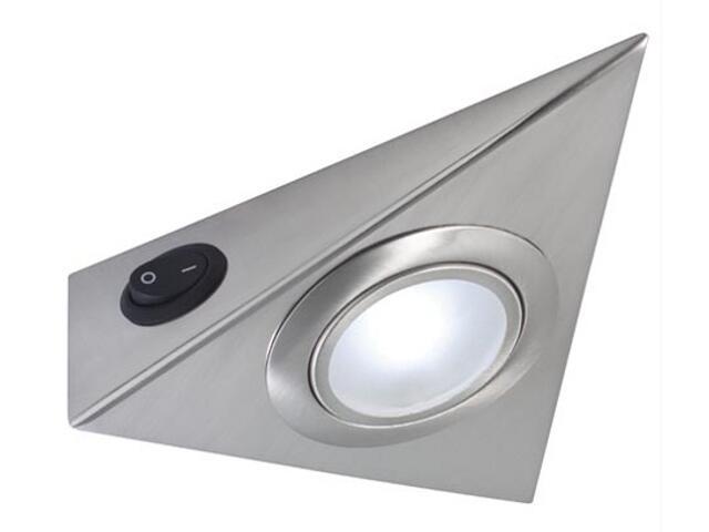 Zestaw opraw meblowych High power LED 3x5W 4000K 3szt. żelazo satyna Paulmann