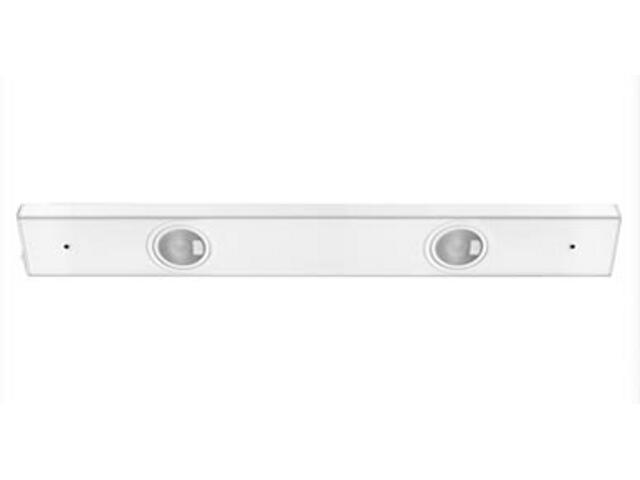 Listwa podszafkowa Flatline biała 2x20W G4 Paulmann