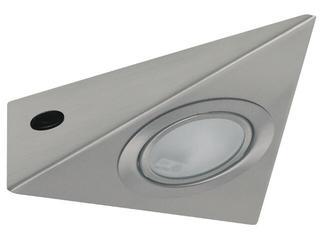 Oprawa meblowa Micro Line trójkątna Allround 1x20W G4 żelazo satyna Paulmann