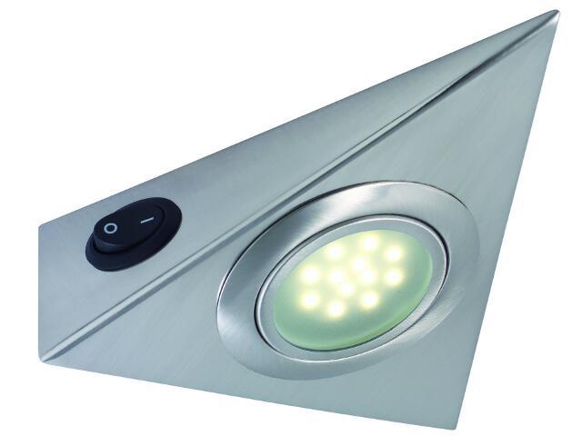 Oprawa podszafkowa Micro Line Home + Office Allround LED 3x1W żelazo satyna Paulmann