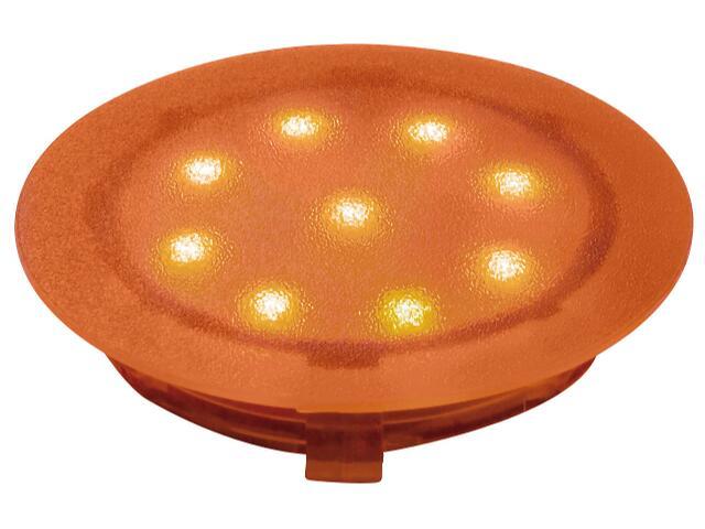 Oprawa meblowa Profi Line UpDownlight LED 1W 45mm pomarańczowa Paulmann
