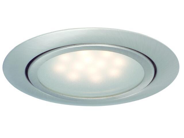 Oprawa meblowa Micro Line LED 3x1W 12VA żelazo satyna Paulmann