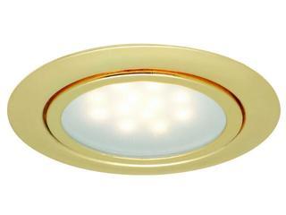 Oprawa meblowa Micro Line LED 3x1W 12VA 12V złota Paulmann