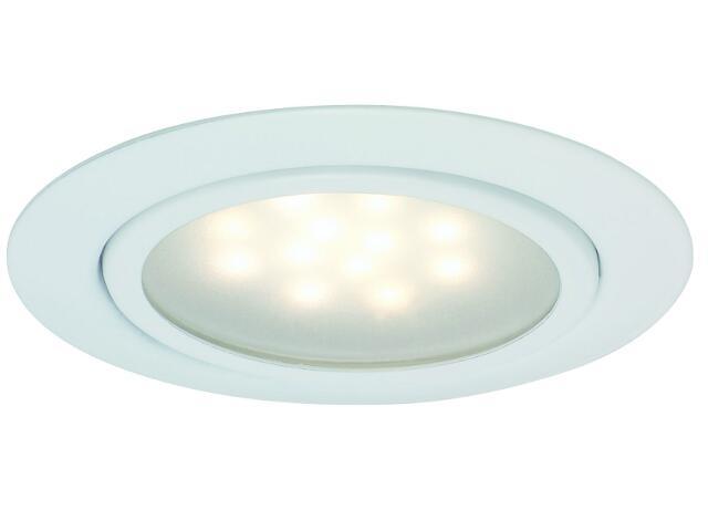 Oprawa meblowa Micro Line LED 3x1W 12VA 12V biała Paulmann