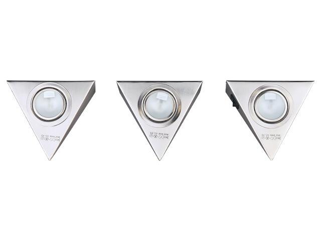 Zestaw oprawek meblowych G4 20W 2596032 3szt. Spot-light