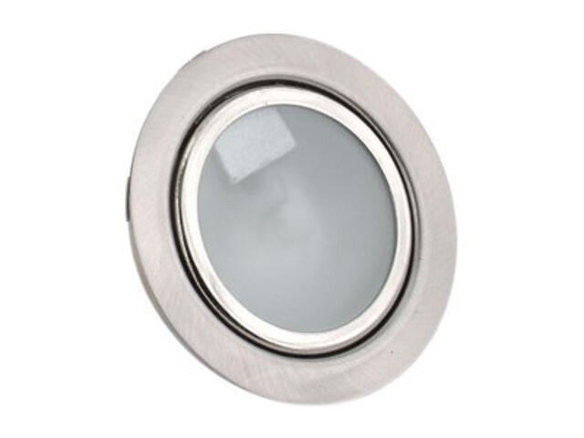 Oprawa podszafkowa stała 20W G4 12141 satynowa srebrna ANS