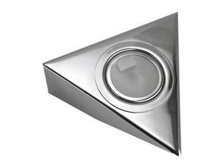 Oprawa podszafkowa trójkąt 20W G4 KH 0807 srebrna ANS