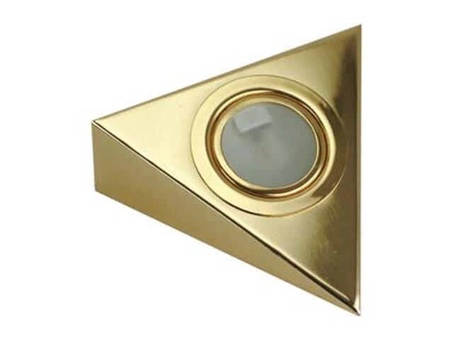 Oprawa podszafkowa trójkąt 20W G4 KH 0807 złota ANS