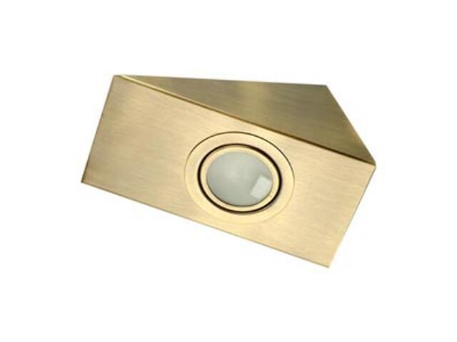 Oprawa podszafkowa 20W G4 KH 0808 matowa złota ANS