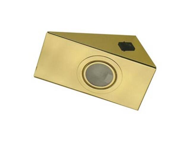 Oprawa podszafkowa z wyłącznikiem 20W G4 KH 0808 złota ANS