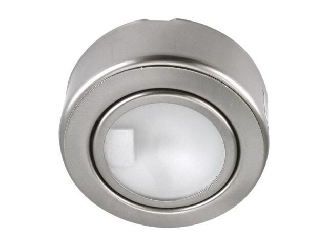 Oprawa podszafkowa stała 20W G4 KHC 0605 satynowa srebrna ANS